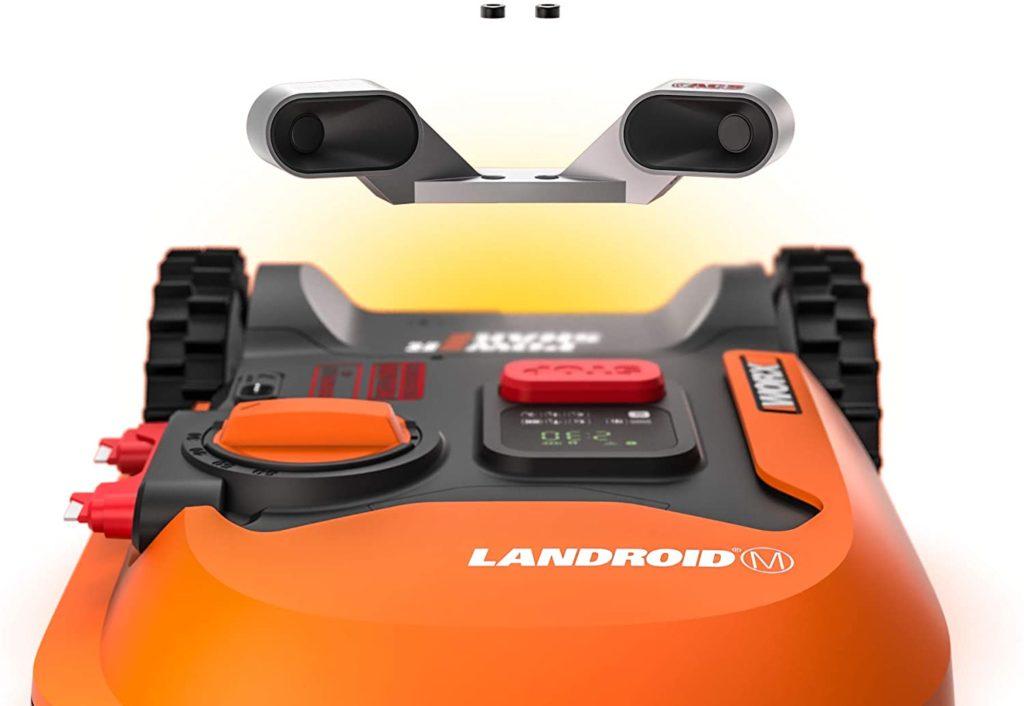 Option anticollision a ajouter sur les robots de tonte Landroid L de Worx
