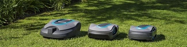 Présentation de robot tondeuse Gardena Sileno