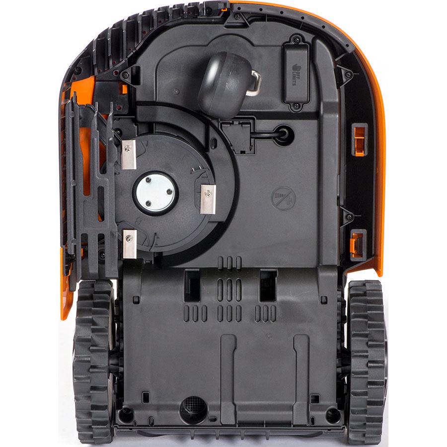 robot tondeuse Worxlandroid M et Landroid L fonction Coupe Bordure