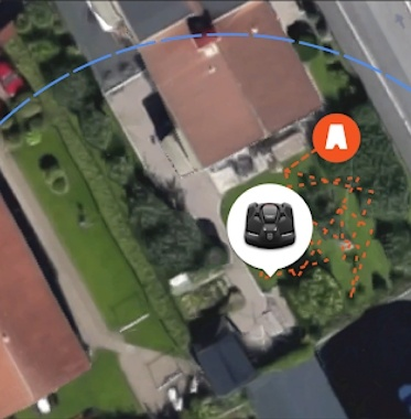 Traceur GPS robots Husqvarna Automower