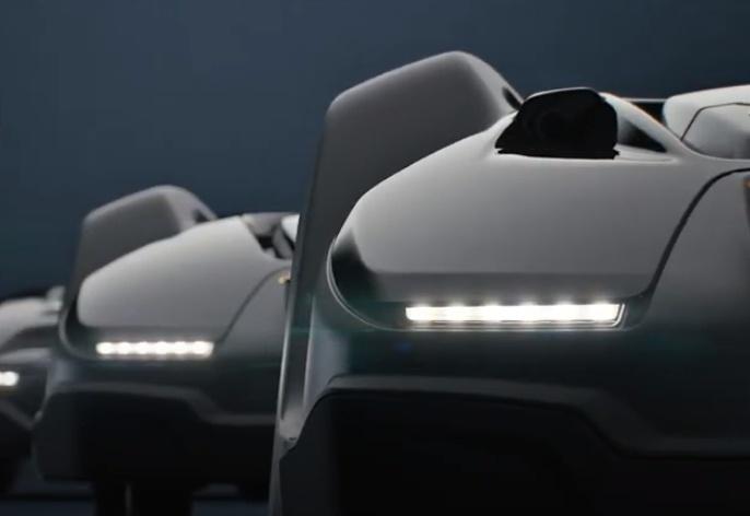 Robot de tonte Automower X-Line et ses phares à LED