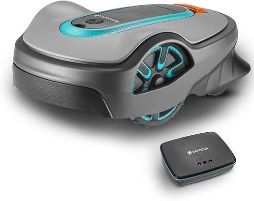 Version connectée Smart des tondeuses autonomes Gardena Life Sileno