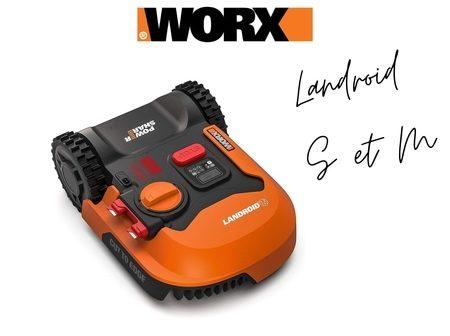 tondeuse Worx Landroid S et Landroid M