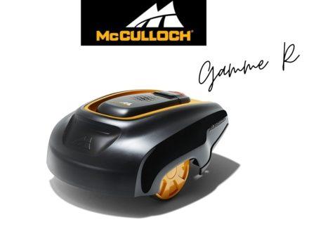 Tondeuse robot Mc Culloch Gamme R