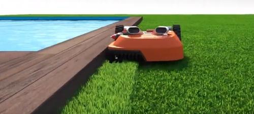 Option Edge to Cut sur le robot tondeuse Worx Landroid