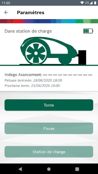 Contrôle de votre tondeuse autonome Indego avec Bosch Smart Gardening