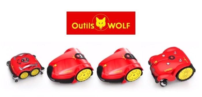 Robot tondeuse Haut de Gamme Outils Wolf